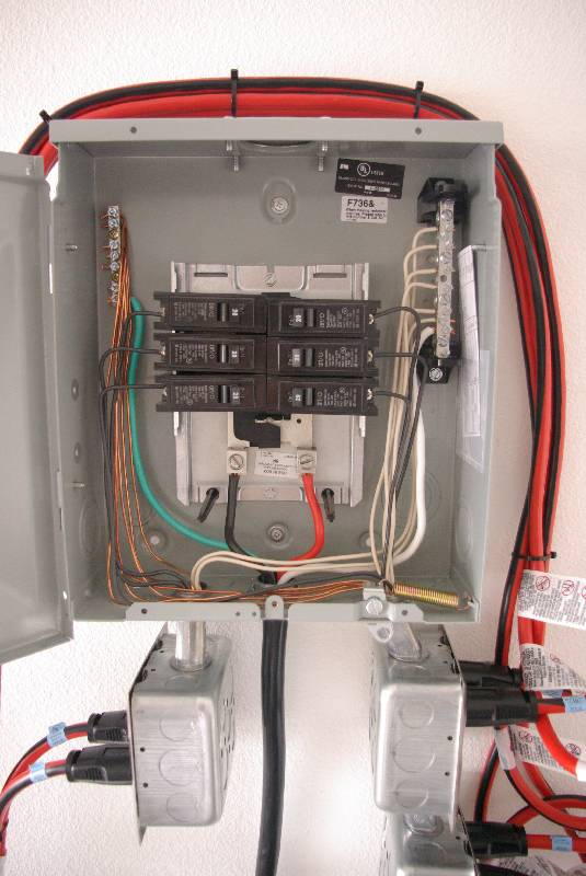 my removable sub panel electrical questions planetchristmas rh forums planetchristmas com Sub Panel W Sub Panel Breaker